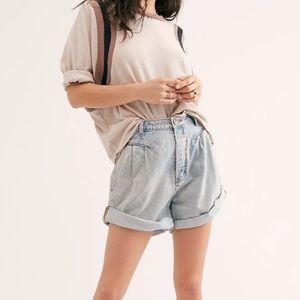 One Teaspoon Street Walker Mom Jeans Shorts Sz 28